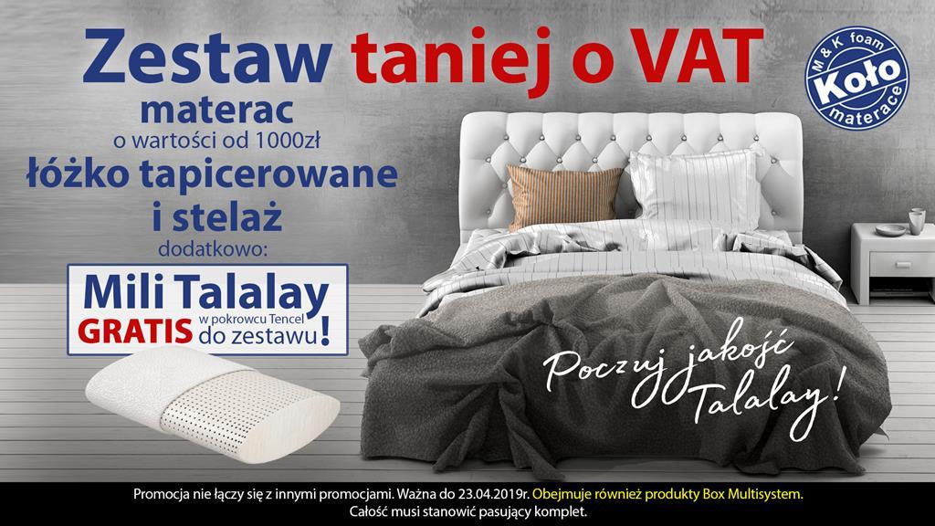 Do 21 Maja Nowa Promocja Materacy I łóżek Firmy Koło